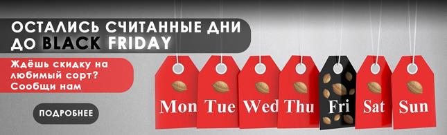 Считанные дни до Черной Пятницы!