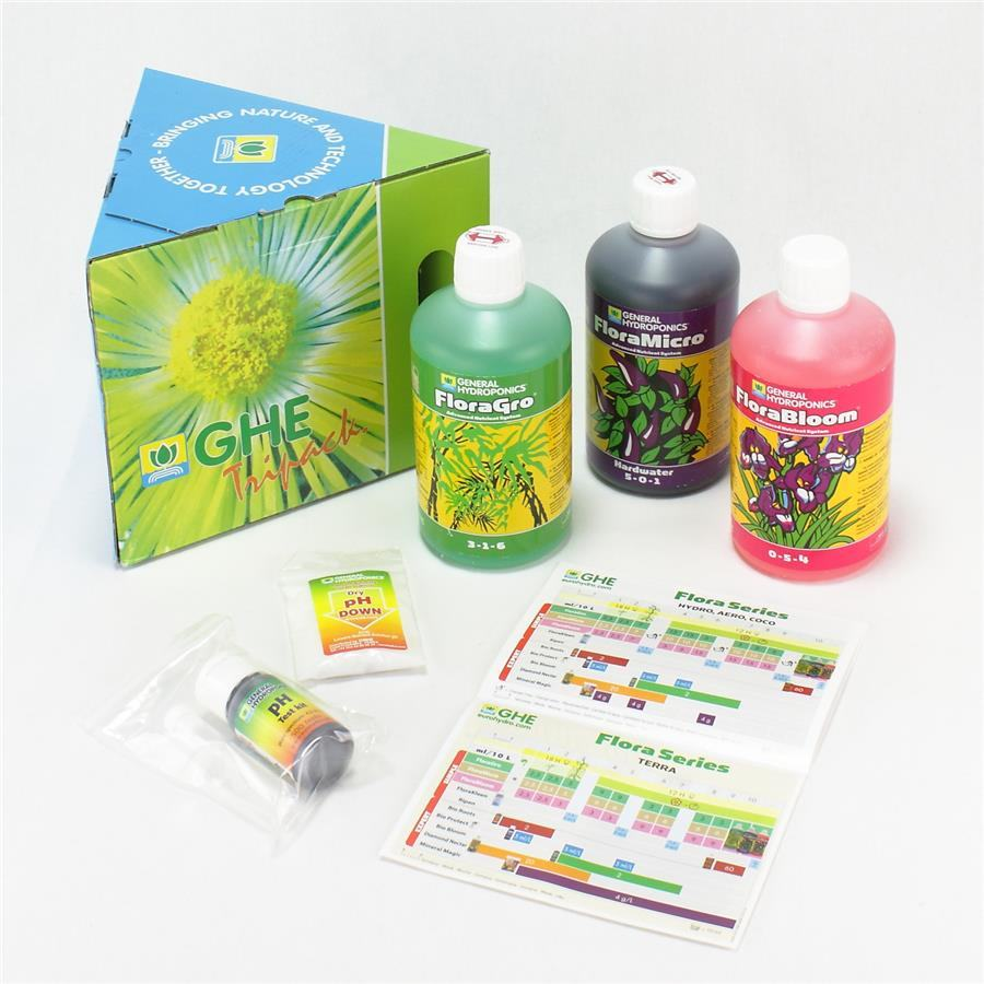 GHE Tripack Flora Hard Water - image